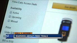 Free trials could cost more than you think - Video