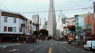 Locked down San Francisco is a ghost town