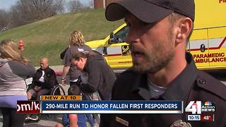 Officer's journey across MO is nearly complete - Video