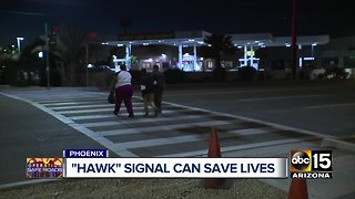 """Hawk"" signal can save lives"