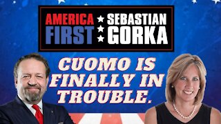 Cuomo's finally in trouble. Rep. Claudia Tenney with Sebastian Gorka on AMERICA First