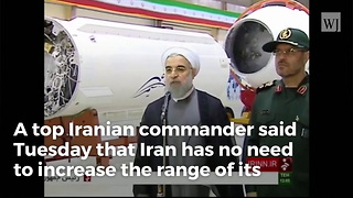 Iran Threatens Strike on American Forces, Missiles Can Hit 'All US Bases' - Video
