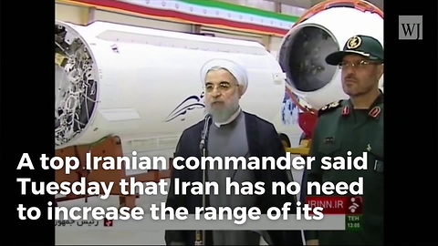 Iran Threatens Strike on American Forces, Missiles Can Hit 'All US Bases'
