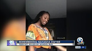 Memorial gathering for girl killed by school bus