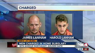 Father and son charged with grand theft for stealing safe from Golden Gate Estates home - Video