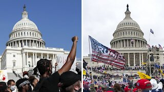 BLM Activists Decry Double Standard In Capitol Police's Timid Response