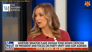 Katie Pavlich Lets Marie Harf Have It After Democrat Defends Flake's 'Trump Is Like Stalin' Speech - Video