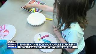 Botanical Gardens offers summer camp - Video