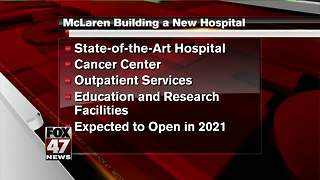 McLaren announces plans to build a new hospital in south Lansing - Video