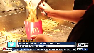 Free fries on Fridays from McDonald's
