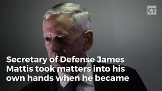 """Mad Dog"" Mattis Takes Charge When He Learns He'll Be Late - Video"