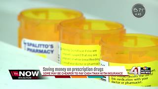 Some prescriptions may be cheaper out of pocket - Video
