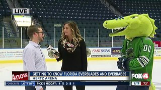Behind the scenes with the Florida Everblades and Everbabes - 7am live report