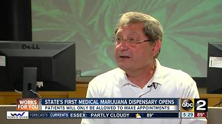 State's first medical marijuana dispensary opens in Frederick - Video