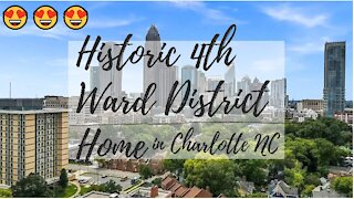Historic 4th Ward District Home in Charlotte NC!
