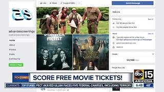 How to score free movie tickets