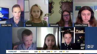 Safely back to school: Virtual roundtable with elementary, middle school students