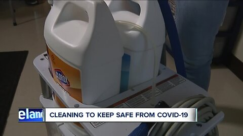 Deep cleaning recommended to kill bacteria and viruses amidst Coronavirus outbreak