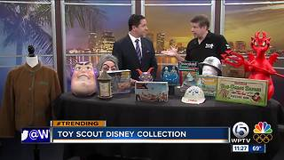 Expert shows off Disney props, toys - Video