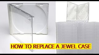 How to replace a CD Jewel case