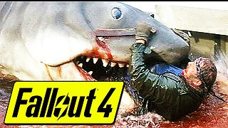 Fallout 4: Classic 'Jaws' scene Easter egg - Video