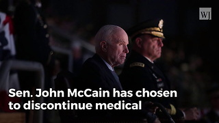 Breaking: John McCain's Family Announces Cancer Treatment Will Be Discontinued