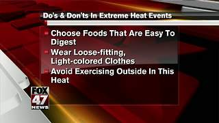 Staying safe in dangerous heat - Video
