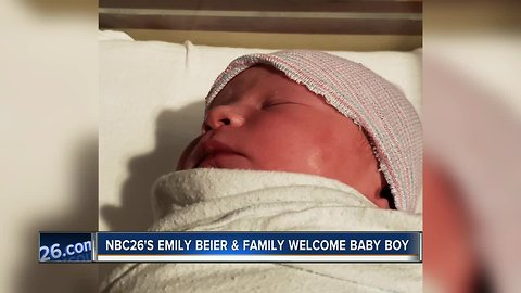 Emily's baby boy is here