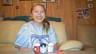 Schoolgirl with rare eating disorder left with lead poisoning after craving pencils and pens - Video
