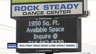 Dance studio closes without warning - Video