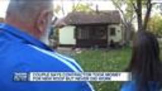 Metro Detroit couple say contractor took their retirement money, didn't do work - Video