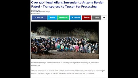 Border Crisis Continues, 130 Surrender, Payments to Illegals in NY, Biden and Gun Control