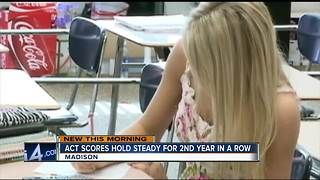 Wisconsin ACT scores hold steady for 2nd year in a row