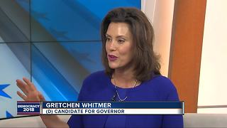 Gretchen Whitmer wins Democratic nomination for Michigan governor