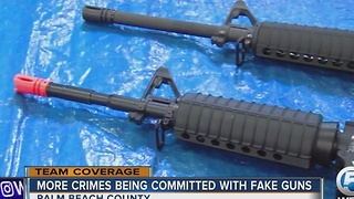 More crimes being committed with fake guns - Video