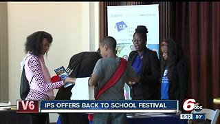 IPS offers back to school festival - Video