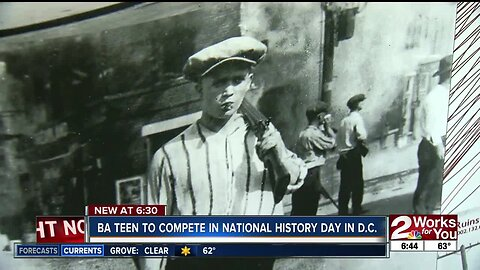 BA teen to compete in National History Day in D.C.