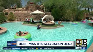 Westin Kierland resort offering resort and spa staycation deal - Video
