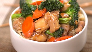 Teriyaki Chicken and Vegetables - Video