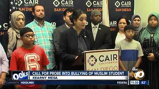 Group calls for investigation into bullying of Muslim student