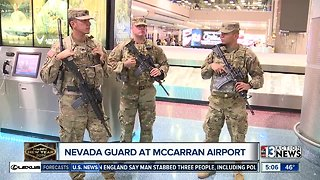 Nevada National Guard out to support law enforcement