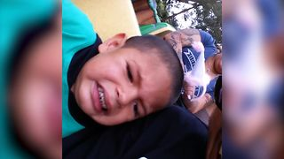 Kids Says NOTHING Scares Him! - Video