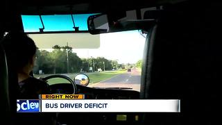 Bus driver shortage affecting how students get to school - Video