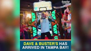 Dave and Buster's opens new Tampa location on Monday | Taste and See Tampa Bay - Video