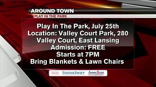 Around Town 7/24/17: Play in the Park