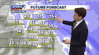 Josh Wurster's Wednesday afternoon Storm Team 4cast - Video