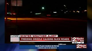 Saturday night driving conditions - Video