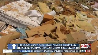 Illegal dumping problem found at Hart Park in Bakersfield - Video