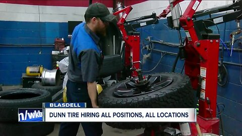HIRING 716: Dunn Tire to hold hiring event, no experience necessary