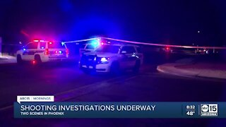 Shooting investigation in Phoenix near 43rd Avenue and Cactus Road
